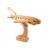 Puzzle madera 3 dimensiones avión
