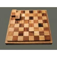 Juego inteligencia ajedrez en masa