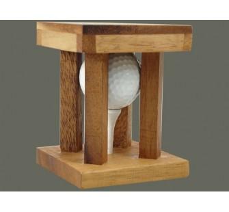 Juego inteligencia golf madera