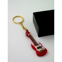 Llavero Miniatura Guitarra Eléctrica modelo Kge23R