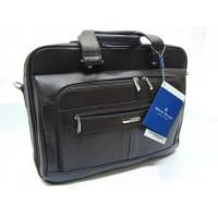 Maletín piel Miguel Bellido viaje (Leather Briefcase) frente