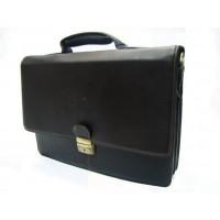 Maletín portadocumentos piel Rosme 5236 (Leather Briefcase) Frente