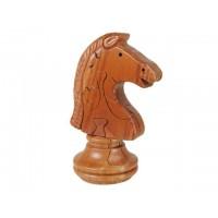 Puzzle madera 3D ficha caballo de ajedrez