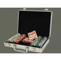Maletín juego de poker 200 fichas 11.5g