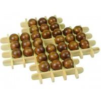 Juego solitario en madera modelo bamboo