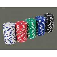 Estuche 100 fichas de poker 11.5g