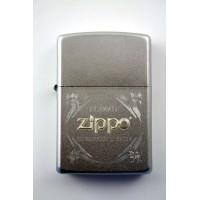 Zippo encendedor logo clásico en relieve