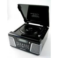 Radio, tocadiscos, lector CD, lector MP3 y tarjetas SD modelo 2708