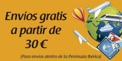 Envío gratis por pedidos superiores a 30€ en Regalos Lor